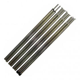 Комплект стальных стоек для палатки, шатра или тента (16х2200 мм, 2 шт.)